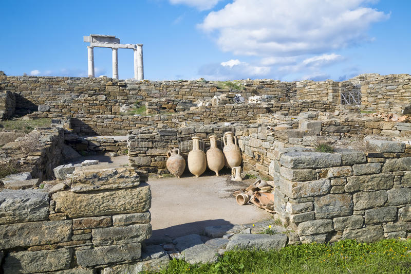 amphoradelos arkivbilder