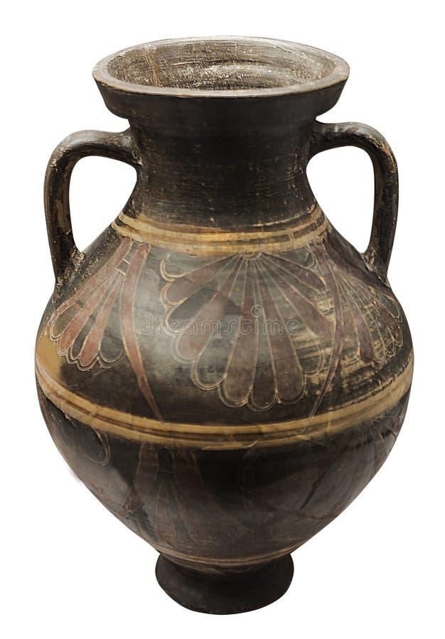 Amphore grecque antique de grandes tailles photo stock