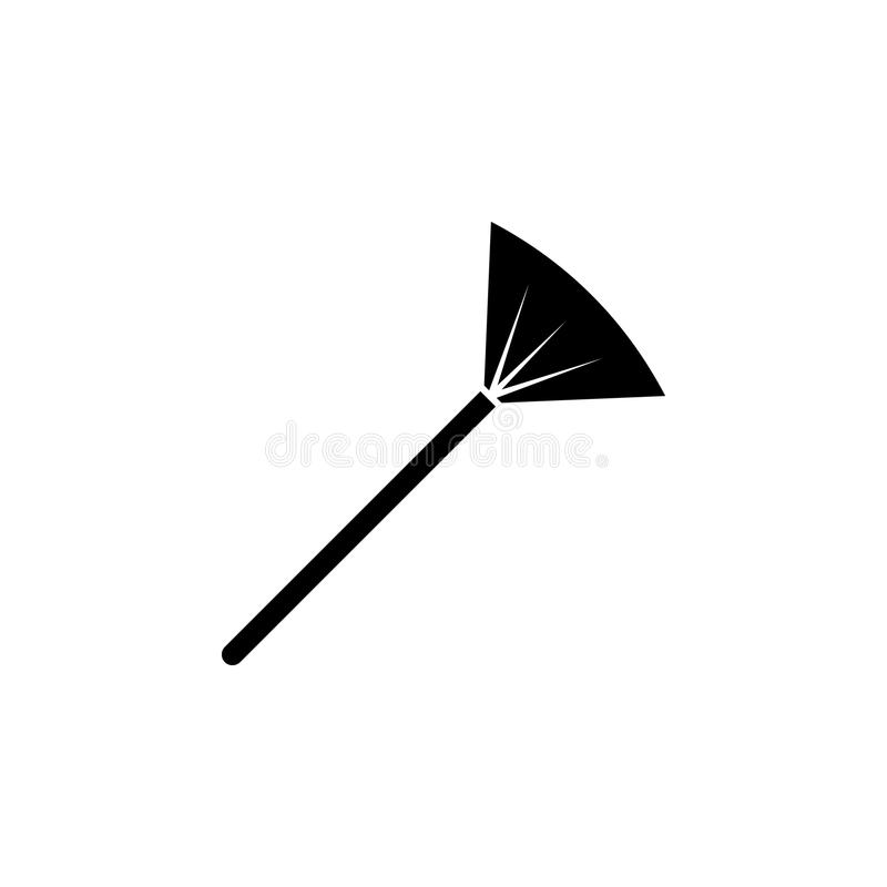 Ampia icona della spazzola di trucco Elementi dell'icona del salone di bellezza Progettazione grafica di qualità premio Segni, ic illustrazione vettoriale