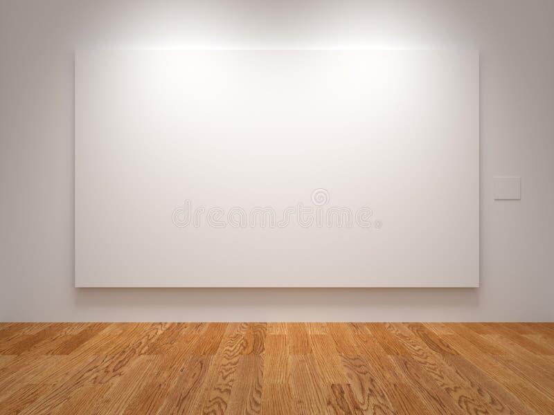 Ampia tela in bianco fotografia stock