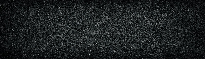 Ampio fondo strutturato nero Panorama di superficie scuro lucido brillante fotografie stock