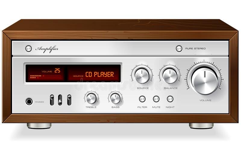 Amplificador ilustração stock