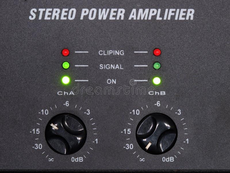 Amplificador imagens de stock