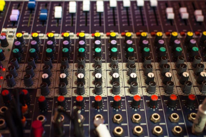 Amplificador, análogo, audio foto de archivo libre de regalías