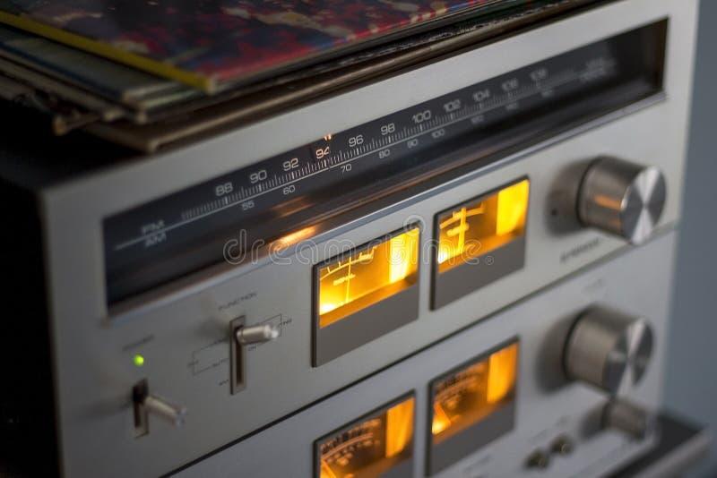 Amplificador, análogo, audio imágenes de archivo libres de regalías