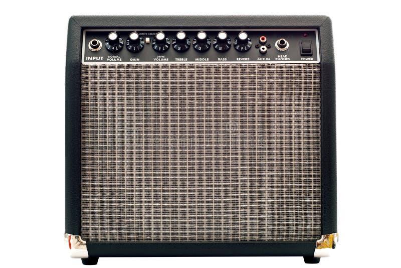Amplificador da guitarra fotos de stock