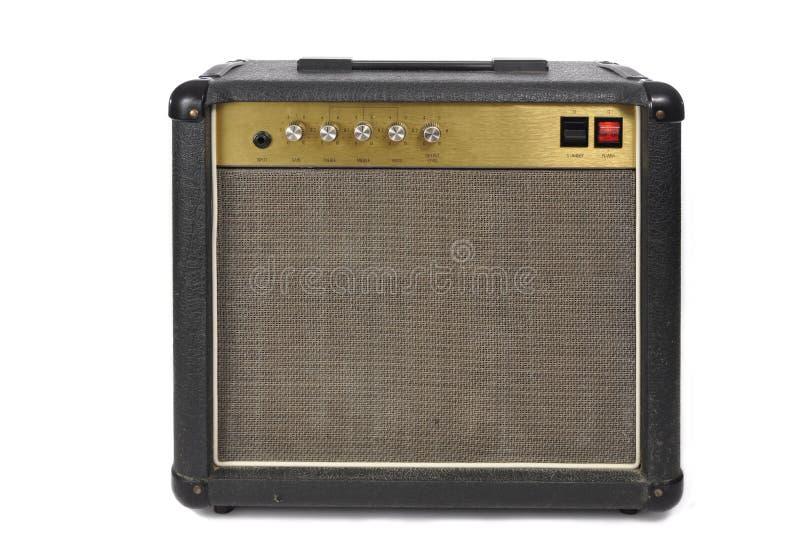 Amplificador da guitarra de Grunge do vintage imagens de stock royalty free