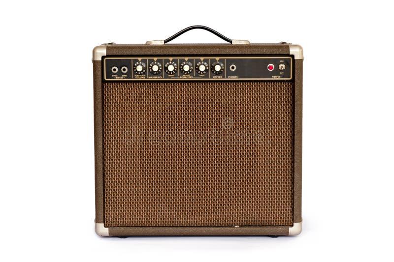 Amplificador da guitarra elétrica imagem de stock royalty free
