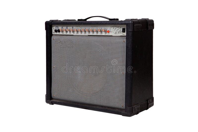 Amplificador de la guitarra fotografía de archivo libre de regalías