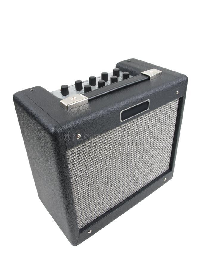 Amplificador de la guitarra imágenes de archivo libres de regalías