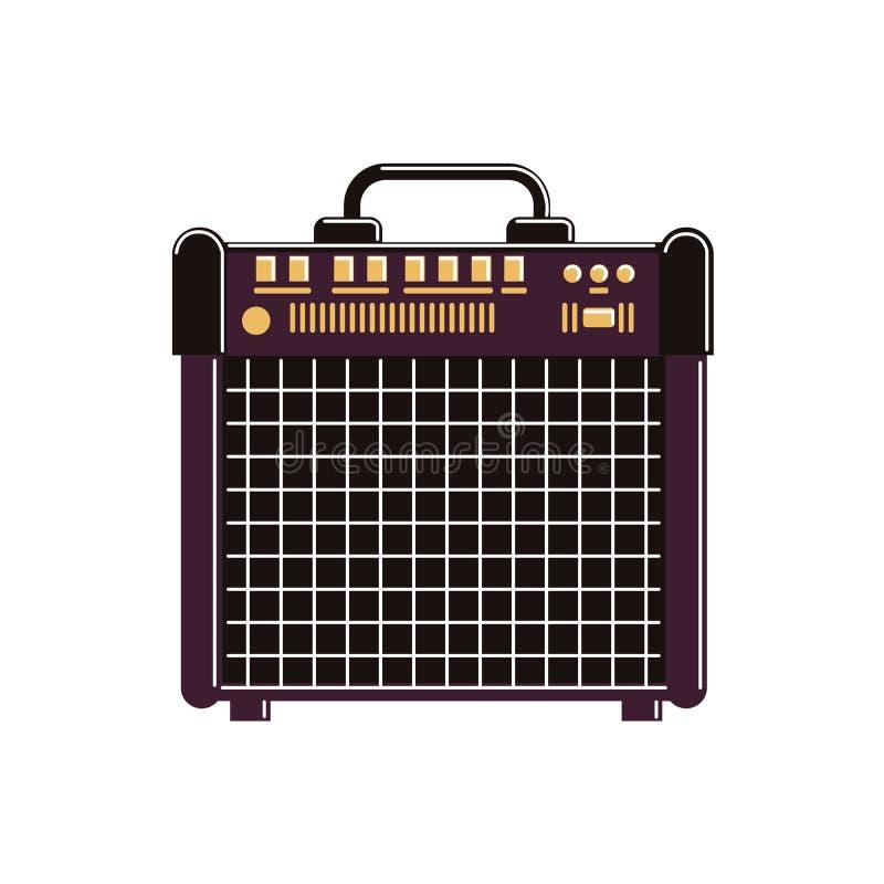Amplificador de la guitarra libre illustration