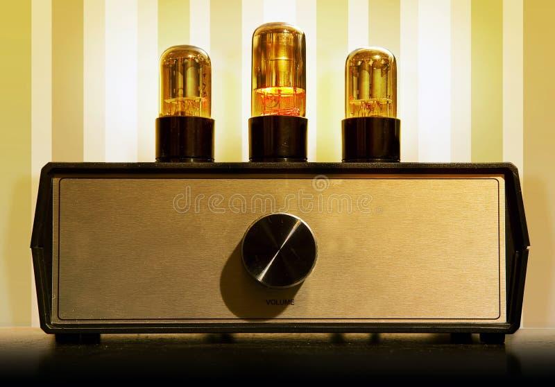 Amplificador do tubo imagens de stock royalty free