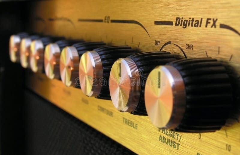 Amplificateur photo stock