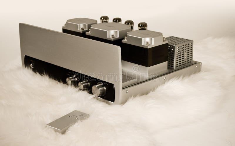 Amplificateur cher de tube photographie stock libre de droits