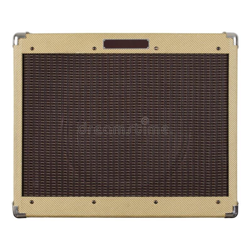 Amplificateur de guitare photographie stock libre de droits