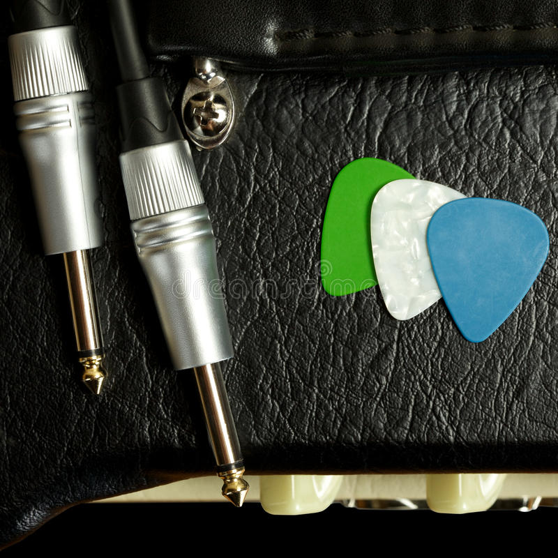 Amplificateur de guitare images stock