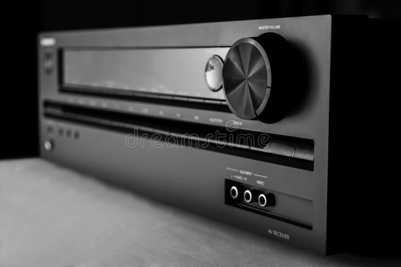 Amplificateur de home cinéma photographie stock