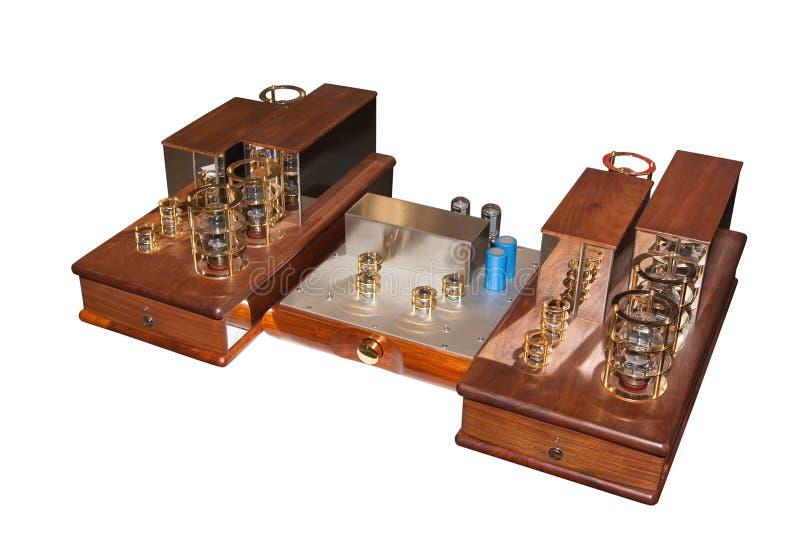 Amplificateur de tube photographie stock