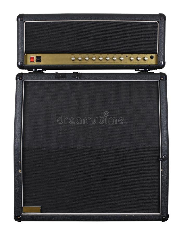 Amplificatore della chitarra combinato immagini stock libere da diritti