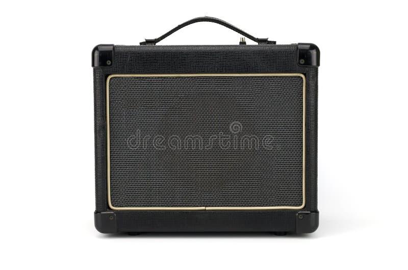 Amplificatore della chitarra elettrica, altoparlante di musica fotografia stock libera da diritti