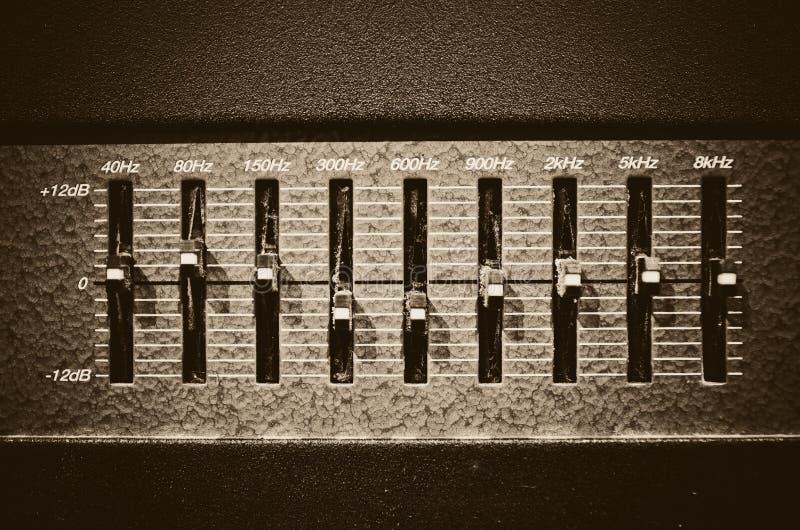 Amplificatore dello studio fotografie stock