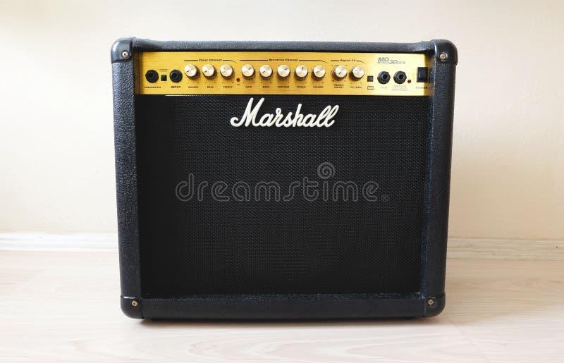 Amplificatore di Marshall 30DFX fotografia stock libera da diritti