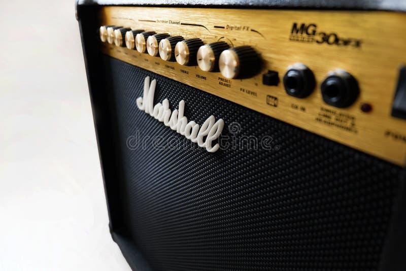 Amplificatore di Marshall 30DFX immagini stock