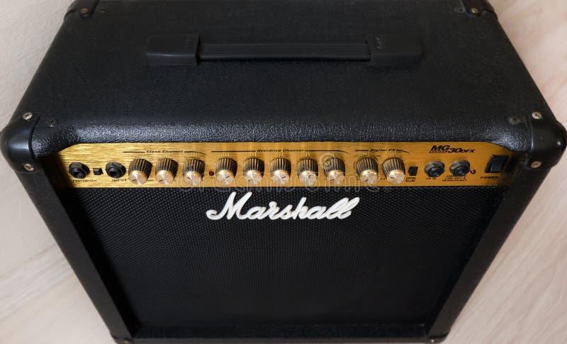 Amplificatore di Marshall 30DFX fotografia stock