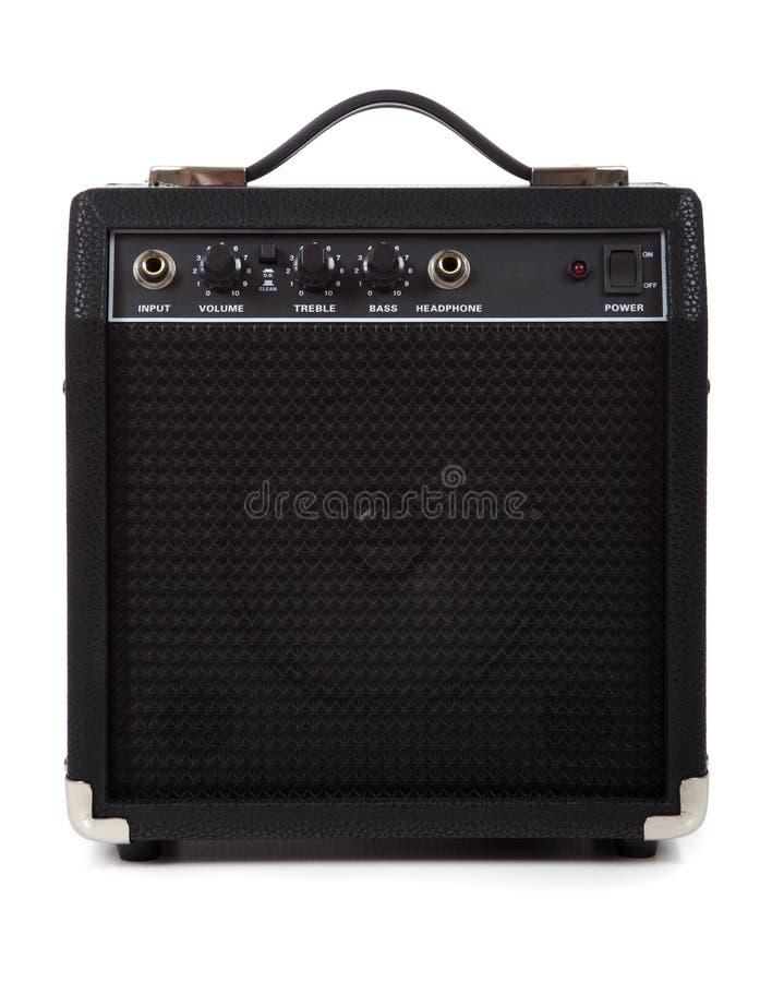 Amplificatore o altoparlante della chitarra fotografie stock