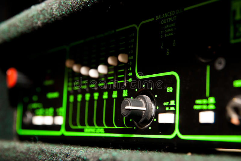 Download Amplifier Equipment Royalty Free Stock Photo - Image: 26324235