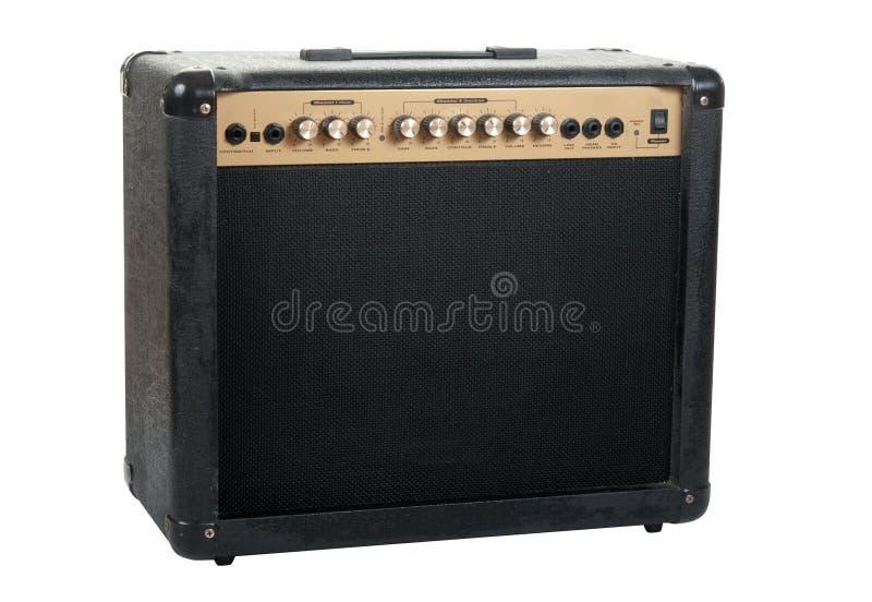 amplifikator gitara handheld zdjęcia royalty free