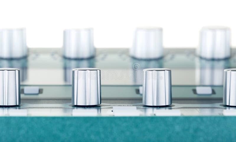 Amplifikator Kontrolne gałeczki zdjęcia stock