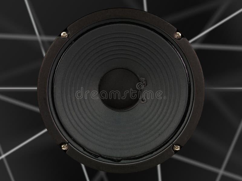 amplifikatoru mówca fotografia royalty free
