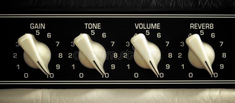 Amplifikatoru panel obraz stock