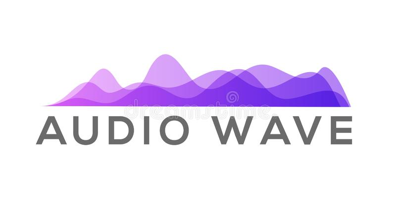 Amplitude colorful motion waves. Abstract equalizer music sound voice wave vector set. Digital graph vector illustration
