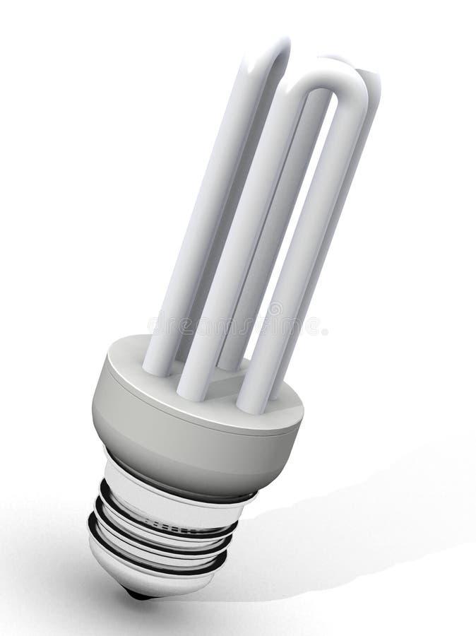 Ampola de poupança de energia ilustração do vetor