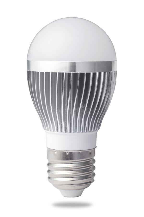 Ampola do diodo emissor de luz fotografia de stock