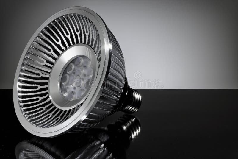 Ampola do diodo emissor de luz, close-up fotos de stock