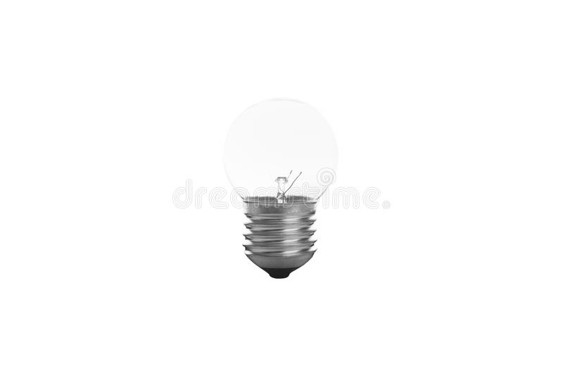 Ampola do tungstênio fotografia de stock