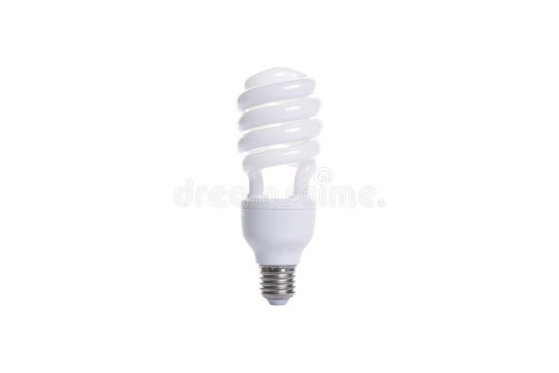 Ampola espiral fluorescente imagem de stock