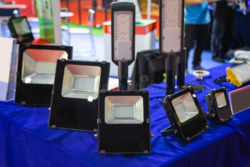 Ampolas de inundação do diodo emissor de luz fotos de stock royalty free
