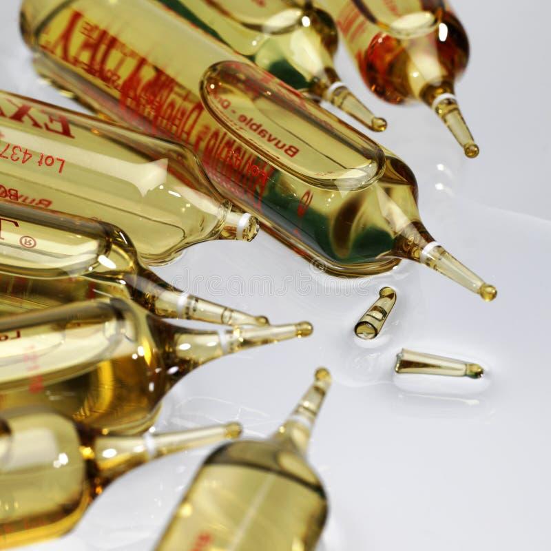 Ampolla (medicina) immagine stock libera da diritti