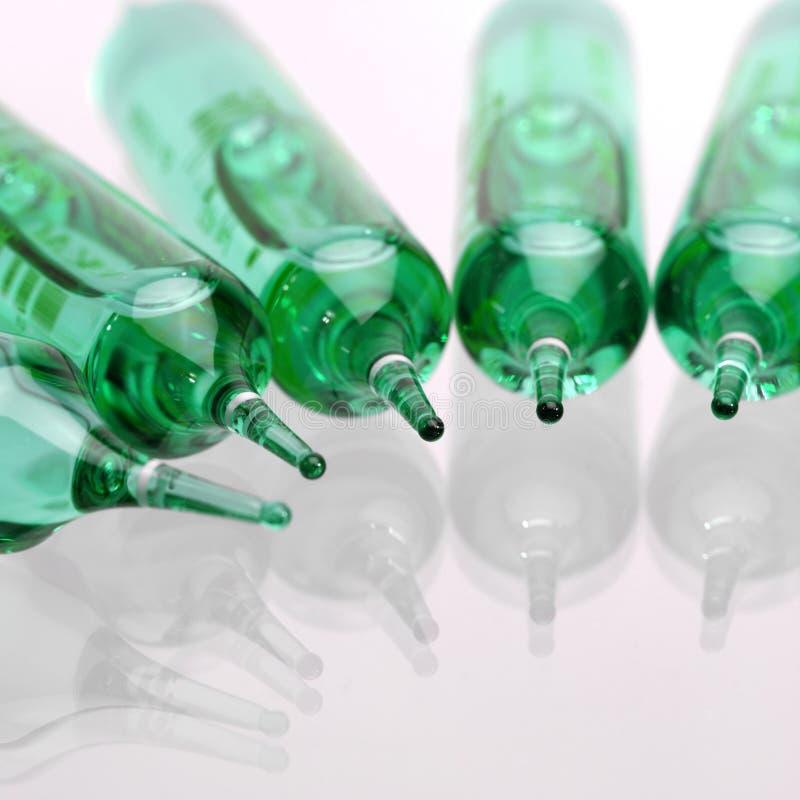 Ampolla (trattamento della stazione termale) immagine stock