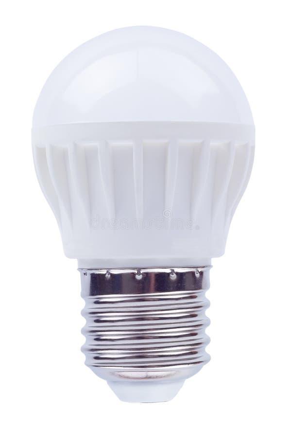 Ampoule économiseuse d'énergie sur a photographie stock libre de droits