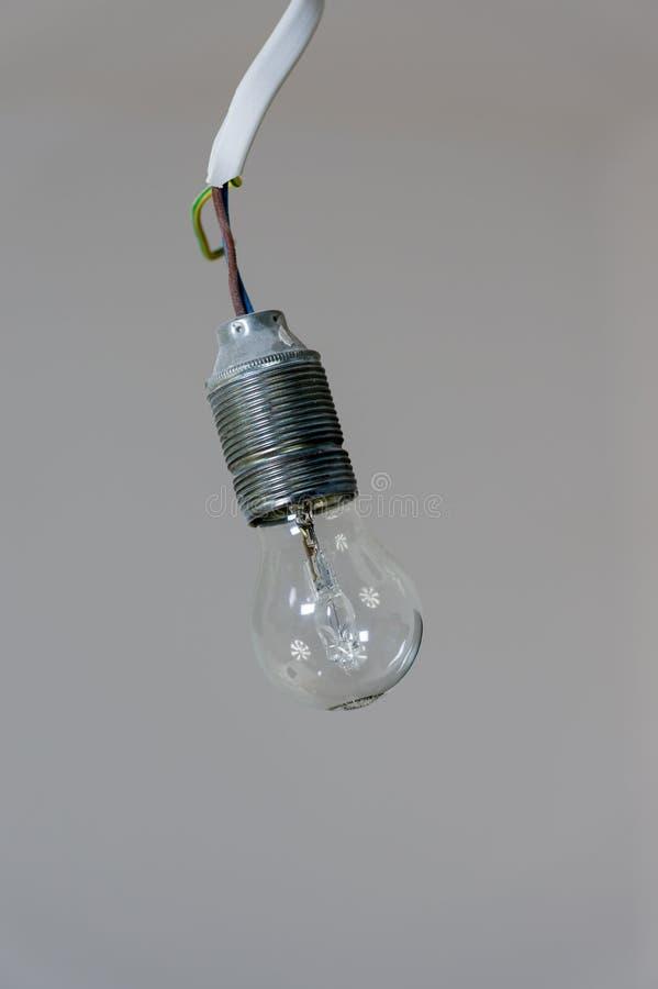 Ampoule électrique image stock