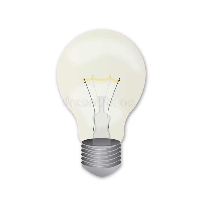 Ampoule illustration stock