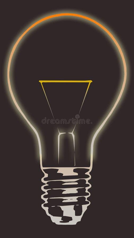 Ampoule 3 illustration de vecteur