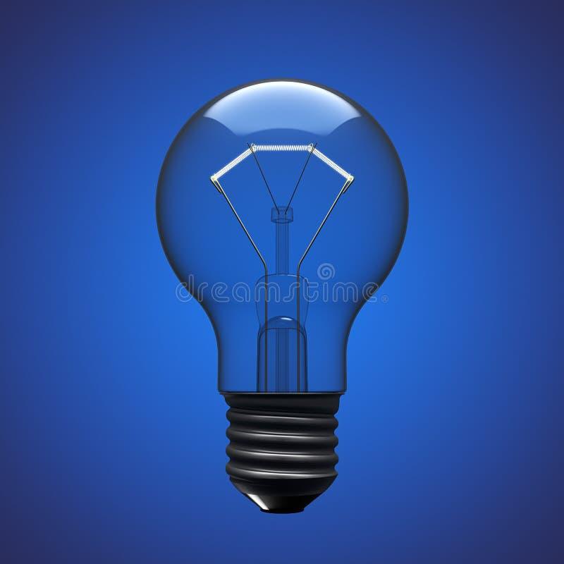 Ampoule illustration de vecteur
