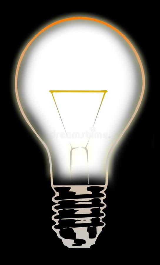Ampoule 5 illustration stock