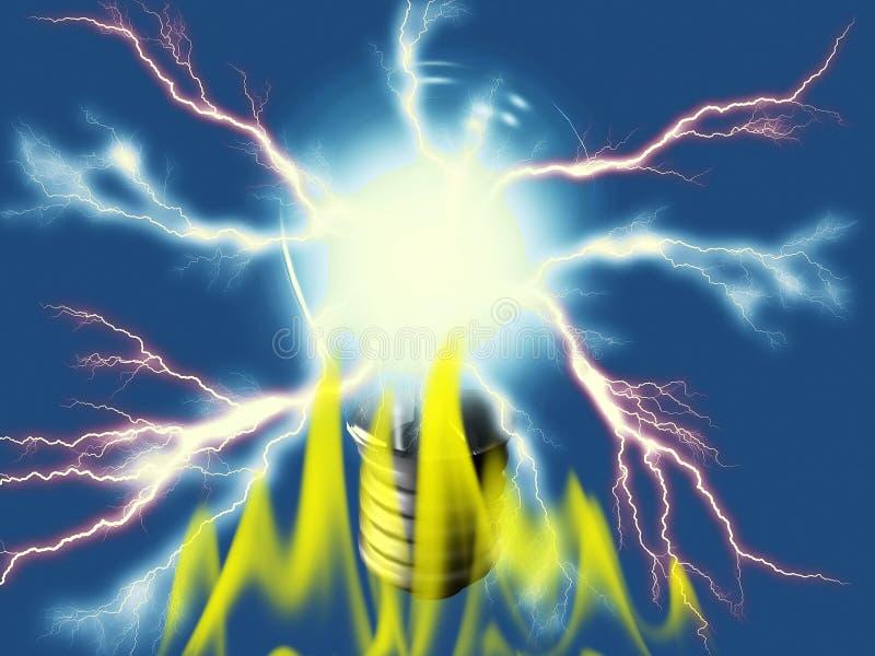 Download Ampoule illustration stock. Illustration du matériel, électrique - 8672870